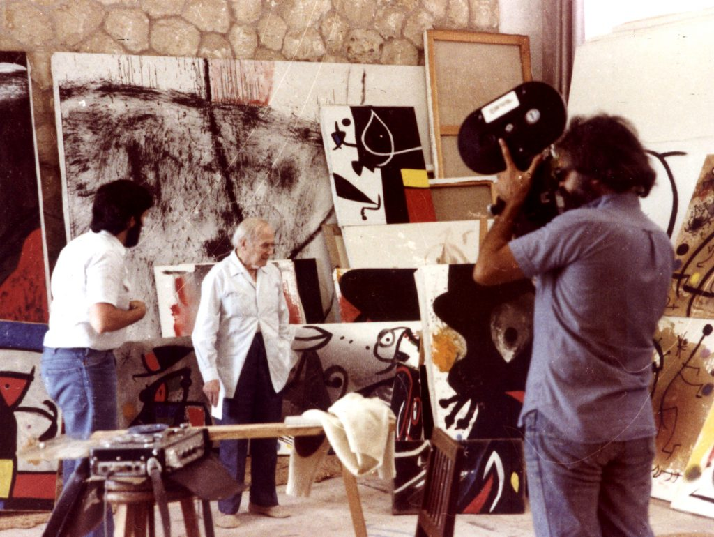 """""""D'un roig encès: Miró i Mont-roig"""" (1979), 20 min."""