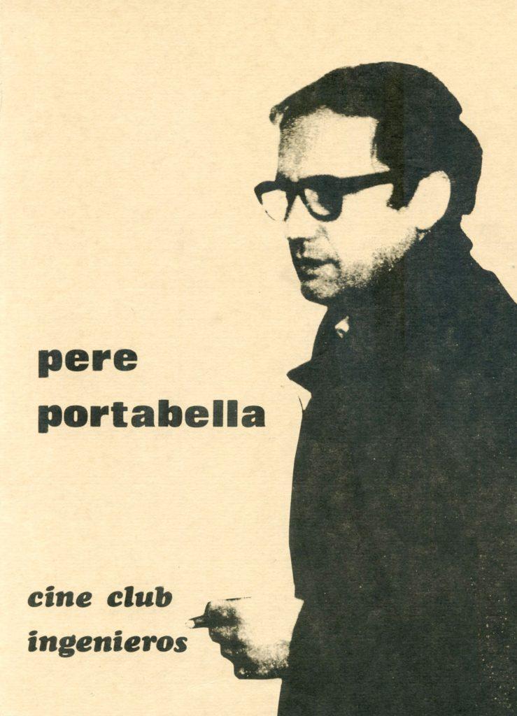 """Pere Portabella"" (Cine club Ingenieros, 1975)"