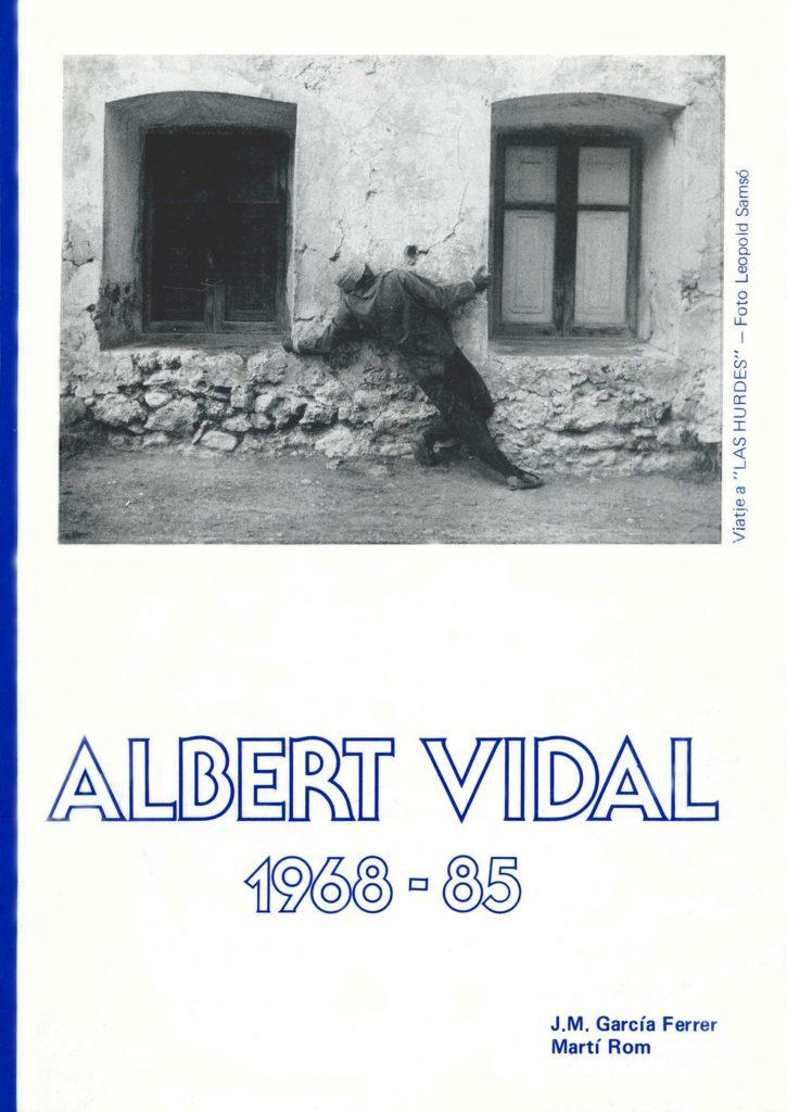 """""""Albert Vidal"""" amb J.M. García Ferrer (C.C.A.E., 1985)"""