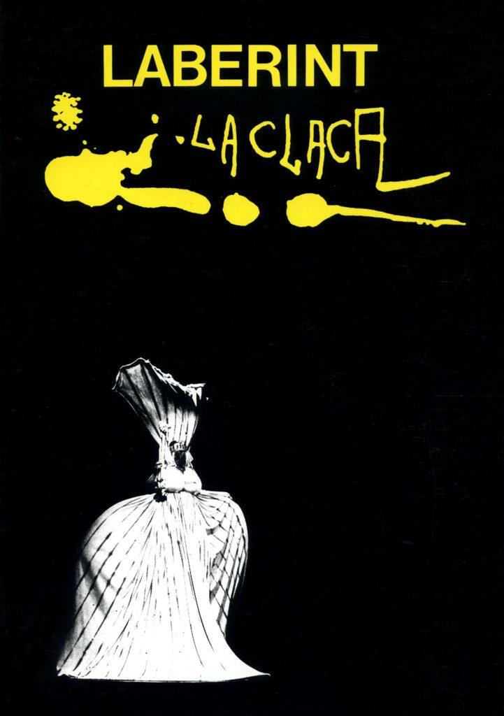 """""""Laberint Claca (Teatre de la Claca)"""" amb J.M. García Ferrer (C.C.A.E., 1986)"""