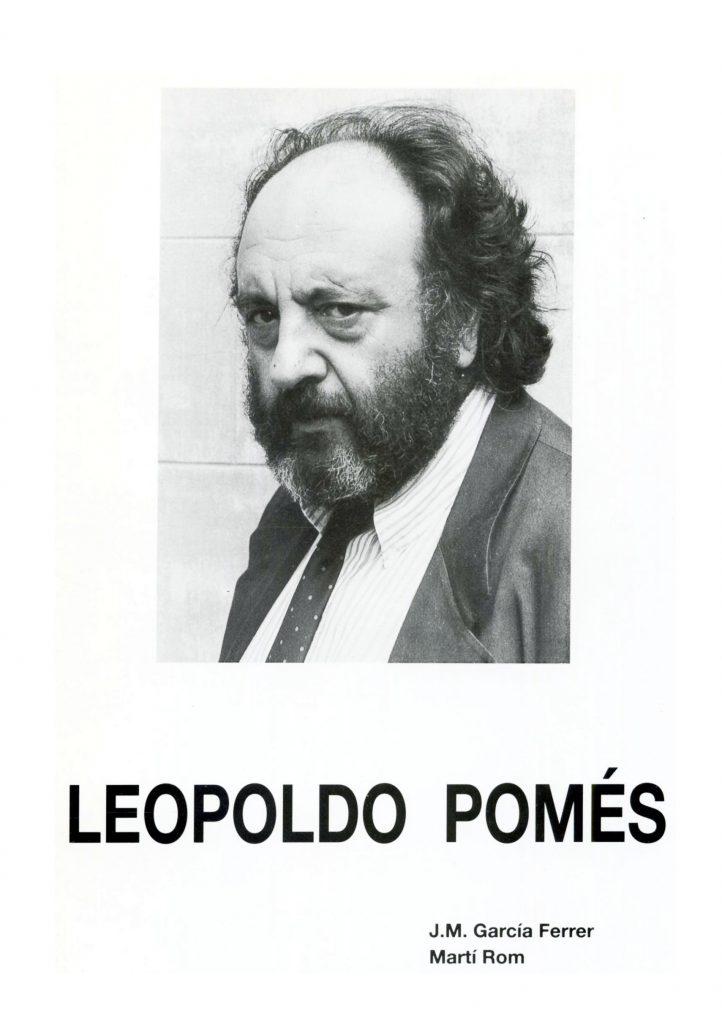 """""""Leopoldo Pomés"""" amb J.M. García Ferrer (C.C.A.E., 1994)"""
