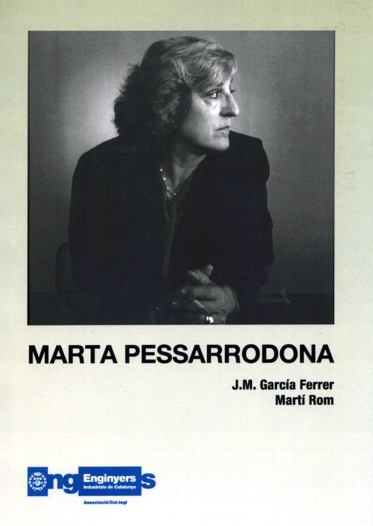 """""""Marta Pessarrodona"""" amb J.M. García Ferrer (C.C.A.E., 2006)"""