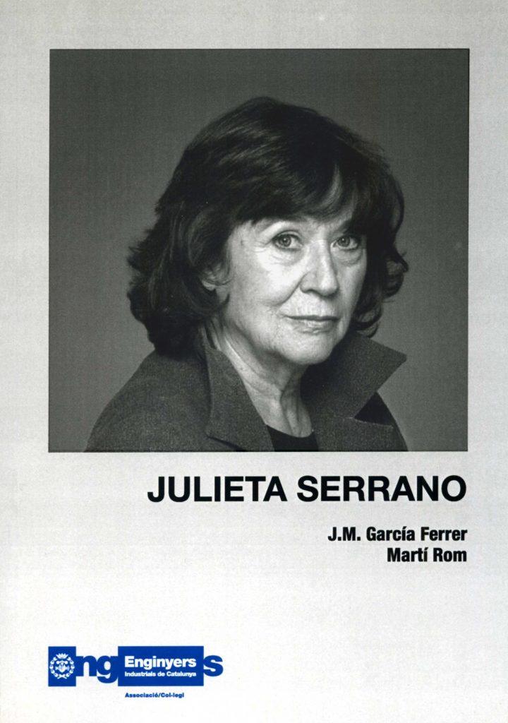 """""""Julieta Serrano"""" amb J.M. García Ferrer (C.C.A.E., 2007)"""