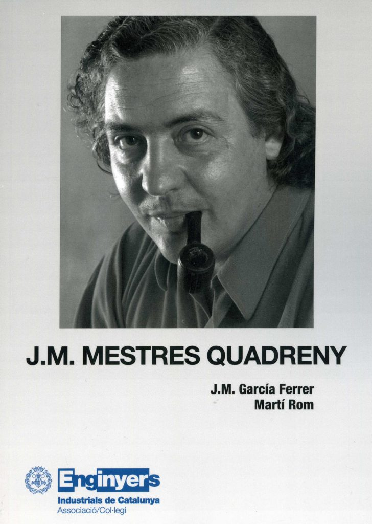 """""""Josep Mestres Quadreny"""" amb J.M. García Ferrer (C.C.A.E., 2010)"""