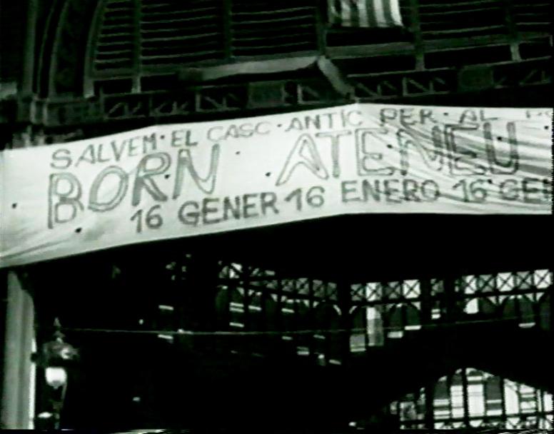 """Noticiari-3: """"El Born"""" (1977), 7 min. Amb la C.C.A"""