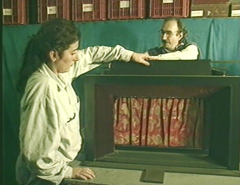 """""""Isidre Prunés i Montse Amenós: escenografies a l'engròs"""" (1992), 15 min."""